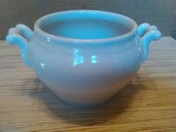 Régi hófehér porcelán leveses tál