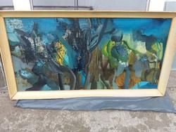 Káplár Ferenc képcsarnokos festménye