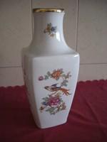 Hollóházi porcelán váza 36 cm