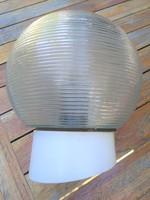 Retro üveg burás fali kar,fali lámpa