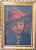 Flamand kislány