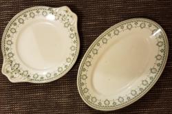 Vitrified Cauldon Ware England - angol porcelán sültes tál és kínáló
