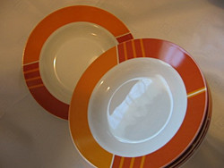 6 db új MF Design leveses tányér