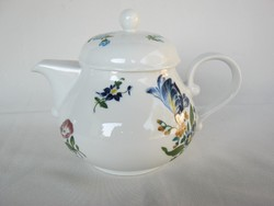 Vadvirágos Kahla porcelán kanna kávéskanna