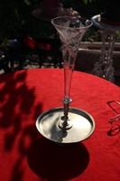 Kínálótál asztalközép ezüstözött alpakka