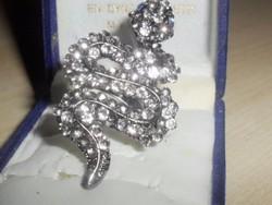 Csupa-csupa kr. KOBRA kézműves Gyűrű 5 cm !!