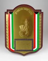 0X356 Kuwaiti emlékplakett 27 x 20 cm