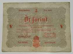 5 forint 1848