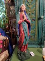 53 cm magas , gipsz Mária , szép állapotban .
