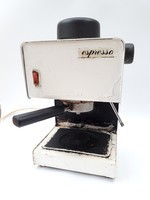 Retro kávéfőző - elektromos Espresso márkájú fémházas kávégép