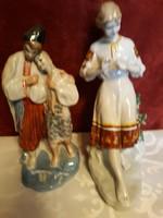 Orosz porcelán szobrok