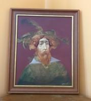 Bazán Vladimir: A mester - festmény