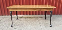 LOFT INDUSTRIAL dohányzó asztal....120×60...