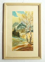 J. Lemke festmény