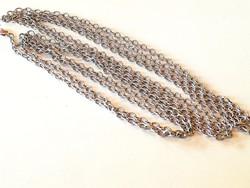 Hosszú ezüst lánc (244 cm)