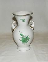 Herendi Apponyi mintás váza 21 cm