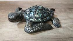 Teknős szobor