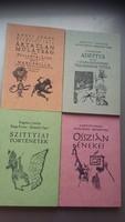 Banga ferenc és Szemethy Imre 4db számozott és dedikált könyve egyben eladó