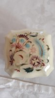 Zsolnay bombonier hand painted rare pattern large size 11000 ft