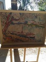 Vén Emil szignóval ritka akvarell festmény!