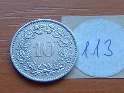 SVÁJC 10 RAPPEN 1976 113.
