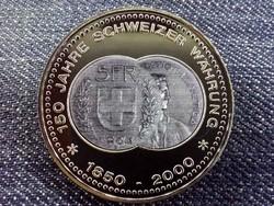 150 éves a svájci valuta emlékérem 5 Frank / id 10683/