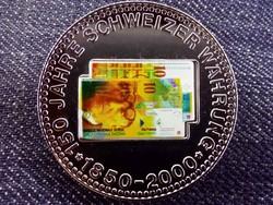 150 éves a svájci valuta emlékérem 10 Frank / id 10684/