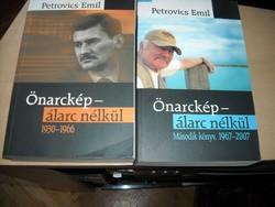 Petrovics Emil: Önarckép, álarc nélkül I-II.