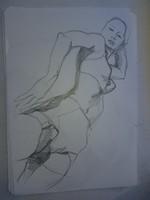 Grafitrajz, méret jelezve, téma erotikus