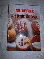 Dr. Oetker-A sütés öröme --eredeti ár 3500 Ft
