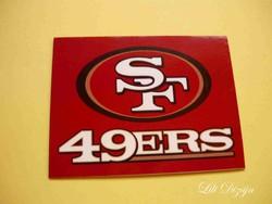SAN FRANCISCO 49-ERS / NFL HŰTŐMÁGNES