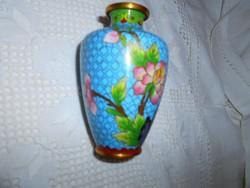 Rekesz zománc (Cloissoné)  váza