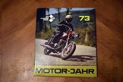 IFA mobile DDR 1973 auto-motor évkönyv MOTOR-JAHR műszaki
