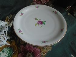 Rosenthal rózsás,  nagy süteményes tányér.