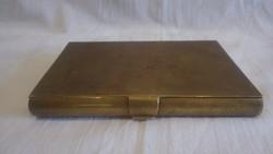 Réz notesz könyvtartó , régi darab