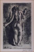 Szőnyi István : Hátakt 1921