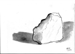 Borsos Miklós - 20 x 27 cm tus, papír