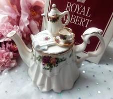 Royal Albert Earthanware gyűjtői kis teás kanna