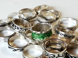 Ezüst gyűrű csomag (20 db.