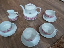 Eladó Hollóházi porcelán teáskészlet.