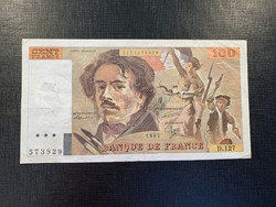 *** 1987 100 frank francs - Delacroix ***
