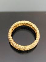 Káprázatos arany gyűrű