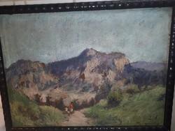 Guzsik Ödön eredeti festménye