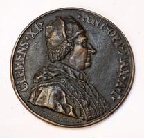 Pope Clement XI,1700–1701,Ermenegildo Hamerani.