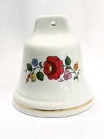 Kalocsai porcelán csengő ( Kecs-Bi32239 )