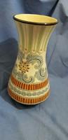 Festett kerámia váza