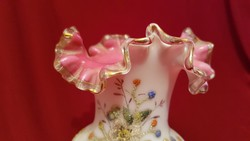 Antik hutaüveg váza !!!