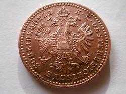 Bronz 1 Krajcár T1-T2  1858
