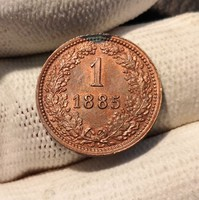 ★1885 Ferenc József 1 Krajcár★