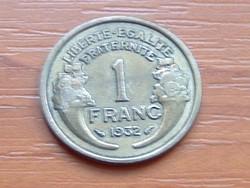 FRANCIA 1 FRANK FRANC 1932 #